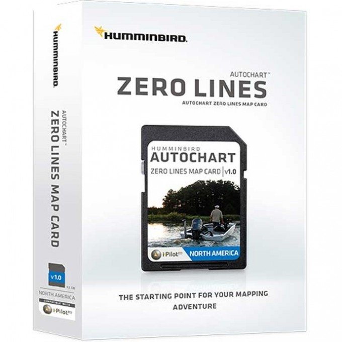 Карта HUMMINBIRD SD AUTOCHART ZeroLine Asia 600033-1AM