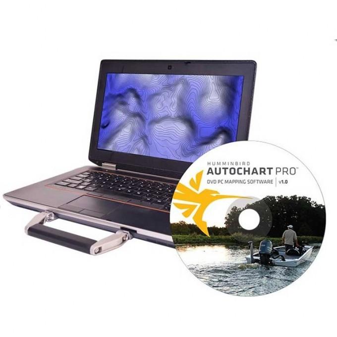 Программное обеспечение HUMMINBIRD AutoChart PRO PC Software (micro SD) 600032-1M
